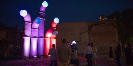 Journées de la culture - Visite guidée – 3 œuvres interactives au Quartier des spectacles billets