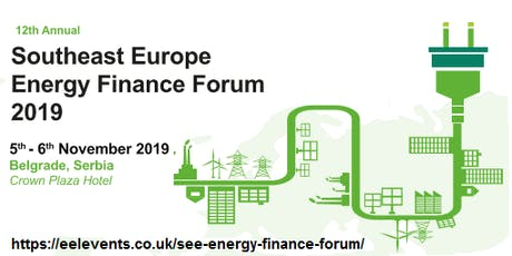 SEE Energy Finance Forum 2019 tickets