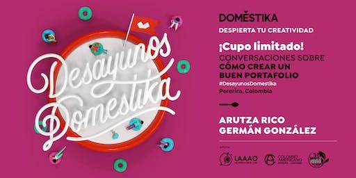 Desayunos Domestika con Arutza Rico & Germán González