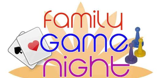 Family Game Night-Sept. 20