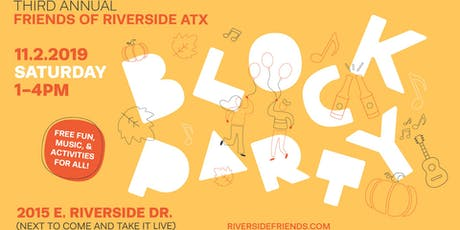 Friends of Riverside 3rd Annual Block Party  tickets