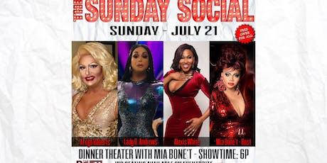 July 21 Sunday Social Show with Mia tickets