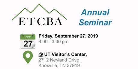 2019 ETCBA September Seminar tickets