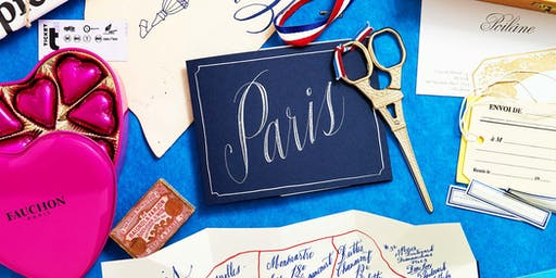The Gift of Calligraphy Class in Paris