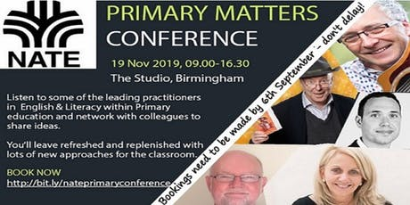 NATE Primary Matters Conference tickets