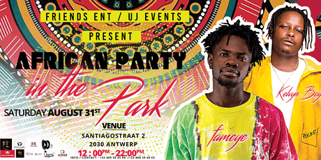 African Party In The Park tickets