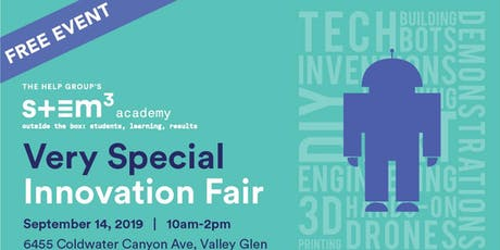 2019 Very Special Innovation Fair - Valley Glen tickets