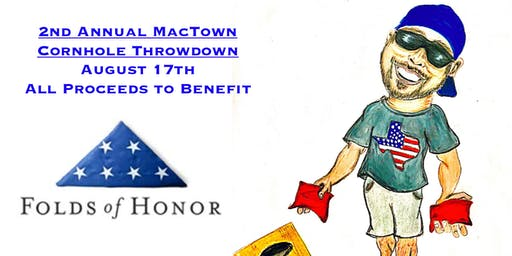 2nd Annual MacTown Cornhole Throwdown