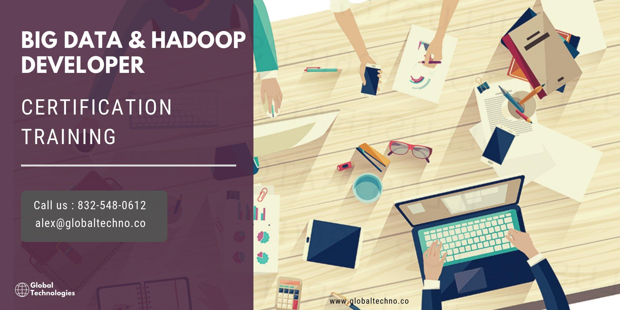 Big Data and Hadoop Developer Certification Training in Corvallis, OR