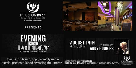 Houston West Chamber's Ribbon Cutting Mixer -Welcoming Improv Comedy Club! tickets