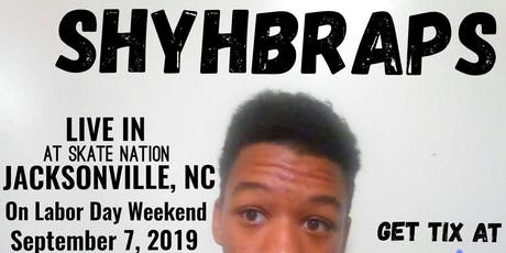 Shyh B LIVE at Glo-Mania Laser Tag, Jacksonville, North Carolina tickets