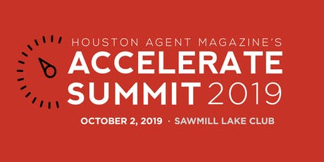 Houston Agent magazine's Accelerate Summit tickets