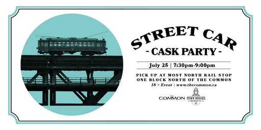 Town Square Brewing Street Car Cask Event