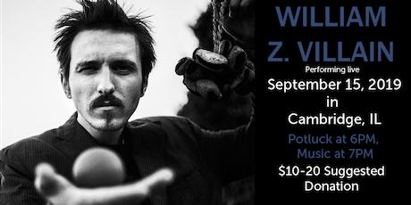 William Z. Villain at Cà d'Zan tickets