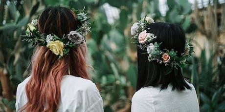 DIY FLOWER CROWN BAR at Summer Skelebration 2019! tickets