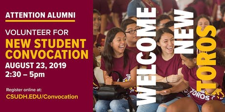 New Student Convocation: The Dominguez Hills First-Year Experience  tickets