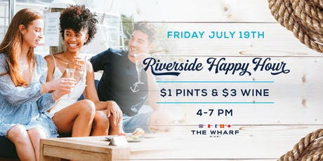 Riverside Happy Hour at The Wharf Miami tickets