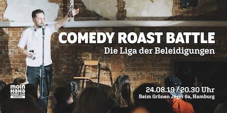 Comedy Roast Battle (Aufzeichnung) Tickets