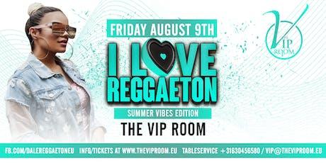 I love reggaeton ladies night tickets