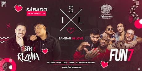 Sambar In Love ingressos