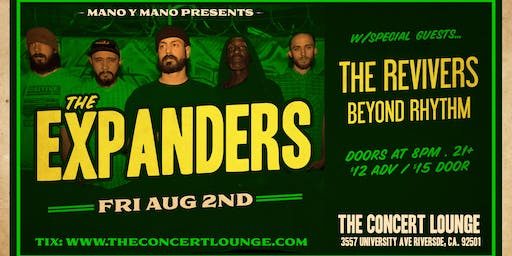 The Expanders w/ The Revivers & Beyond Rhythym