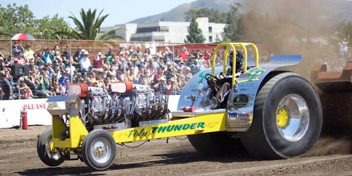 Cal Poly Tractor Pull at the Carson Valley Spectacular
