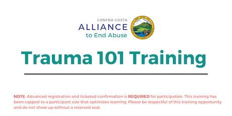 Trauma 101 Training November 2019 tickets