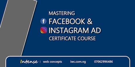 Facebook & Instagram Ad Course tickets