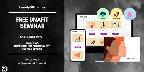 Free DNAfit seminar tickets