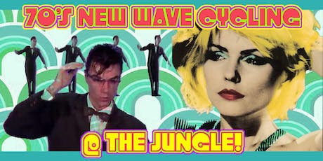 Theme Night:  70's New Wave  Cycling at the Jungle! tickets