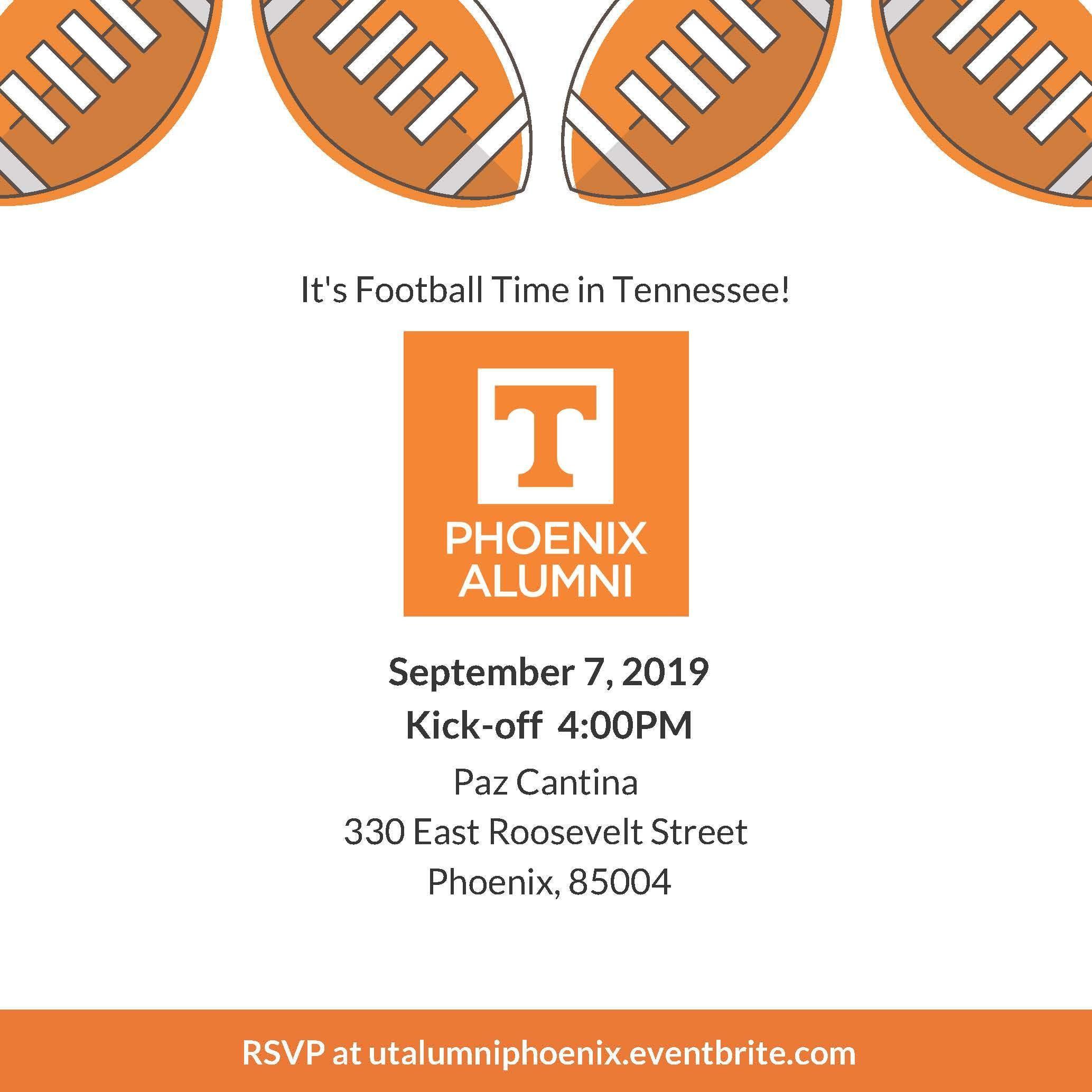 University of Tennessee Phoenix Alumni Watch Party