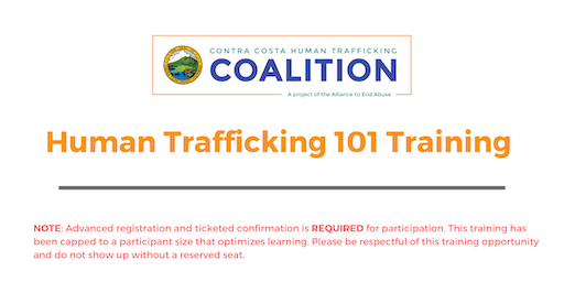 Human Trafficking 101 Training January 2020
