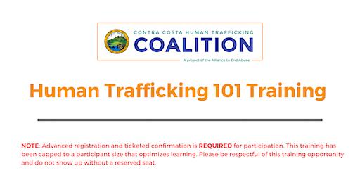 Human Trafficking 101 Training January 2020