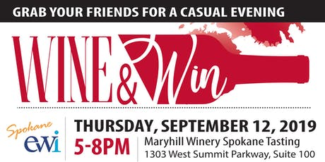 EWI of Spokane Wine & Win Event tickets