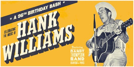 Hank Williams Sr.'s 96th Birthday Bash ft the Randy Thompson Band tickets