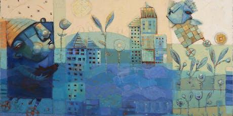 "August Call for Art: ""True Blue"" tickets"