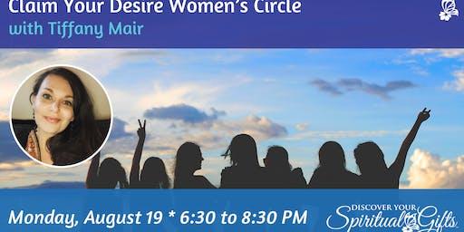 Claim Your Desire Women's Circle