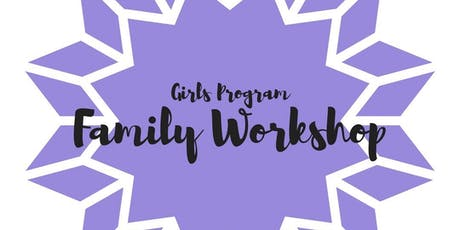 Connect Charter Girl's Program: Family Workshop- Session 1  tickets