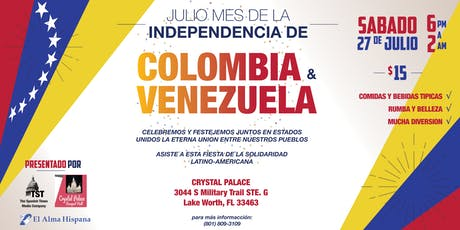 Independencia de Colombia & Venezuela tickets