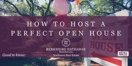 How to Host A Perfect Open House tickets
