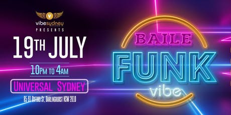 Baile Funk - Vibe tickets