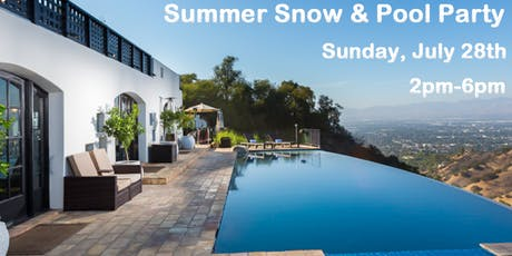 Summer Snow & Pool Party! tickets