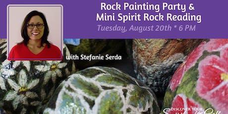 Rock Painting Party & Mini Spirit Rock Reading with Stefanie Serda tickets
