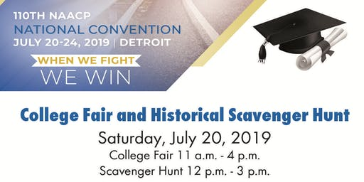 All Roads Lead to Detroit College Fair & Historical Scavenger Hunt