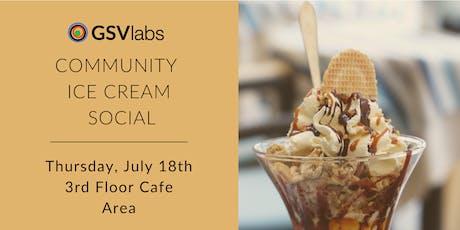 GSVlabs Community Ice Cream Social tickets