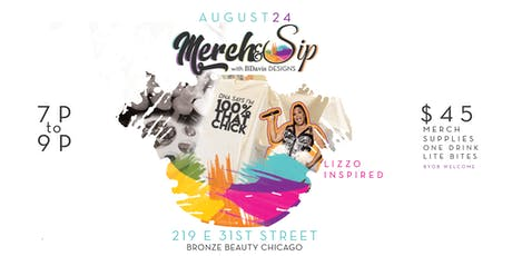Merch & Sip: Lizzo Inspired tickets