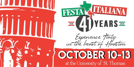 41st Houston Italian Festival