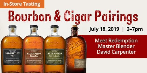 In Store Tasting: Bourbon & Cigar Pairings!