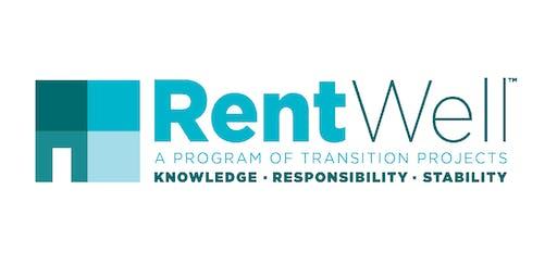 Rent Well 6-Week Tuesday Class - September