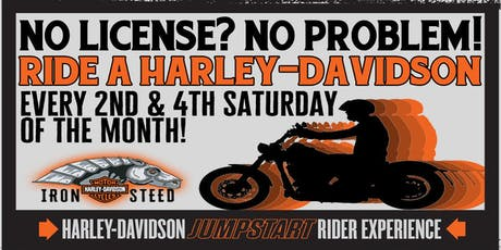 Ride a Harley! tickets